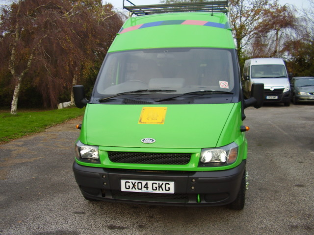 2004 FORD TRANSIT 2.4 WELFARE MINIBUS £5,000.00 16 SEATED OR 8 SEATED & 5 WHEELCHAIRS