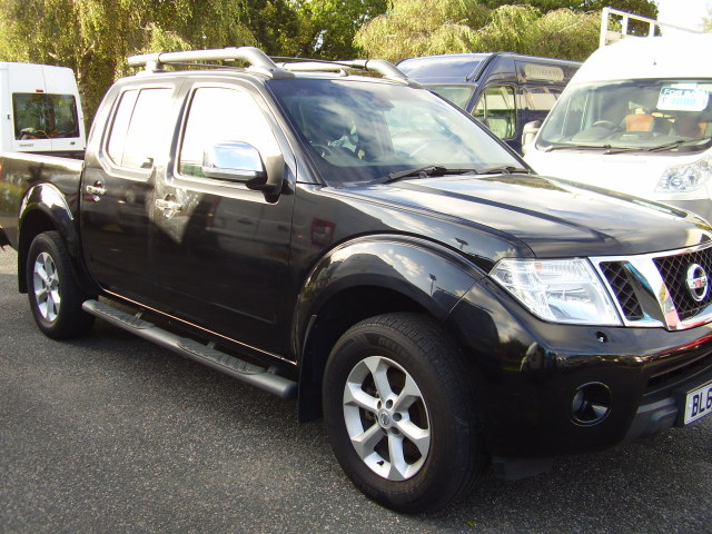 2011(60) NISSAN TENKA AUTOMATIC 4x4 £7,975.00 DCi188A double cab