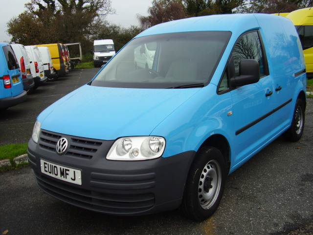 2010 VOLKSWAGEN CADDY C20 Plus SDi £6,495.00 1 owner, service history, 26,000 miles